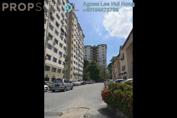 Apartment For Rent in Iris Apartment, Taman Desa Freehold Unfurnished 2R/1B 850translationmissing:en.pricing.unit