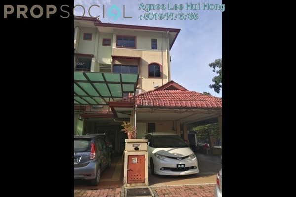 Townhouse For Rent in Villa Laman Tasik, Bandar Sri Permaisuri Freehold Semi Furnished 4R/3B 1.75k