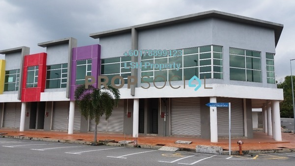 Shop For Sale in Pusat Perniagaan Gangsa, Durian Tunggal Freehold Unfurnished 0R/0B 600k
