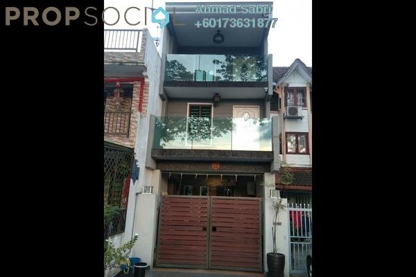 Terrace For Sale in Taman Sentul Jaya, Sentul Freehold Semi Furnished 3R/2B 450k