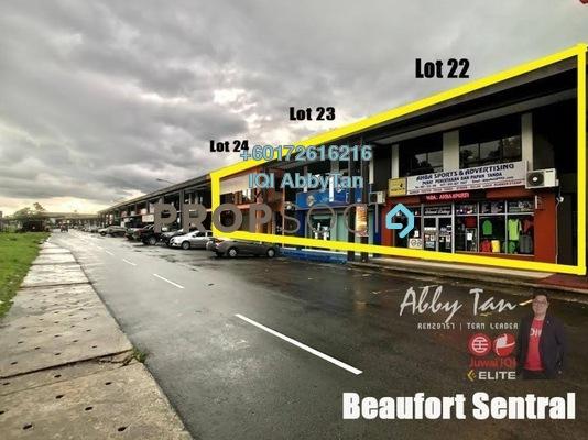 Shop For Sale in Beaufort Sentral, Beaufort Leasehold Unfurnished 0R/2B 790k