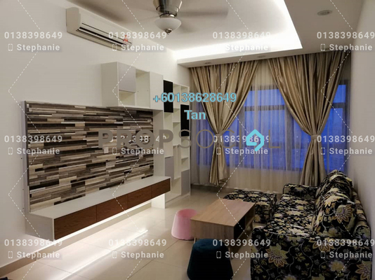 Serviced Residence For Sale in Lakeville Residence, Jalan Ipoh Freehold Fully Furnished 3R/2B 735k