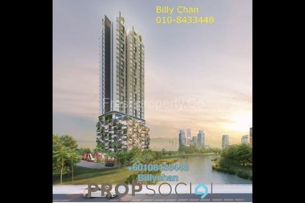 Condominium For Sale in Taman Shanghai, Old Klang Road Leasehold Semi Furnished 3R/2B 470k