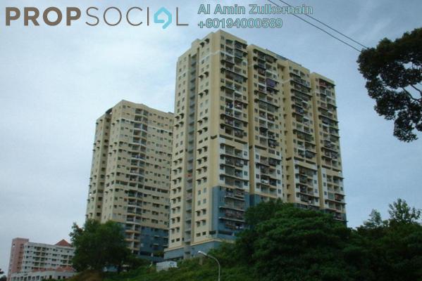 Apartment For Sale in Saujana Heights, Teluk Kumbar Freehold Unfurnished 3R/2B 218k