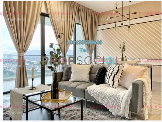Serviced Residence For Sale in Lakeville Residence, Jalan Ipoh Freehold Fully Furnished 4R/2B 900k