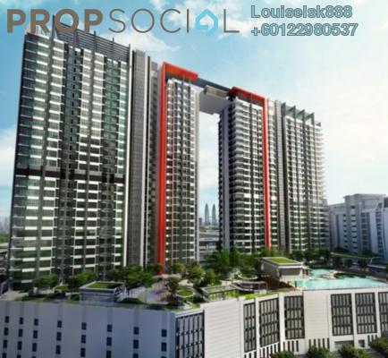 Condominium For Sale in V Residence 2 @ Sunway Velocity, Cheras Freehold Semi Furnished 2R/2B 990k