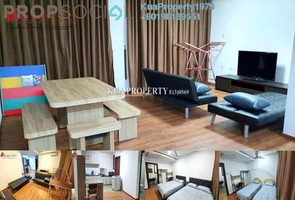 Condominium For Rent in Jazz Suite @ ViVaCiTy, Kuching Freehold Fully Furnished 3R/2B 2.3k