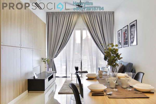 Condominium For Rent in Setia Sky Residences, KLCC Freehold Fully Furnished 1R/1B 3.1k