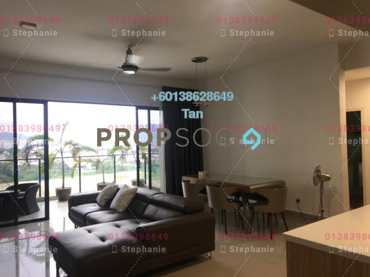Serviced Residence For Sale in Lakeville Residence, Jalan Ipoh Freehold Fully Furnished 4R/2B 950k