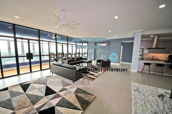 Condominium For Rent in Suasana Sentral Condominium, KL Sentral Freehold Fully Furnished 4R/5B 8k