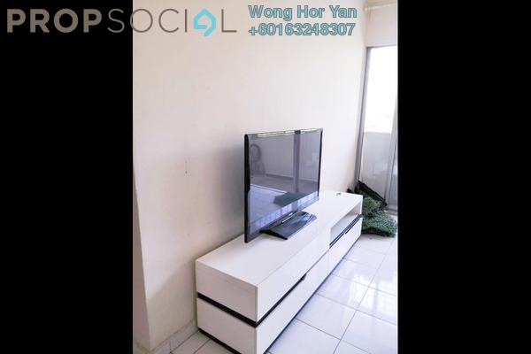 Apartment For Rent in Sri Teratai Apartment, Bandar Kinrara Freehold Semi Furnished 3R/2B 1.1k