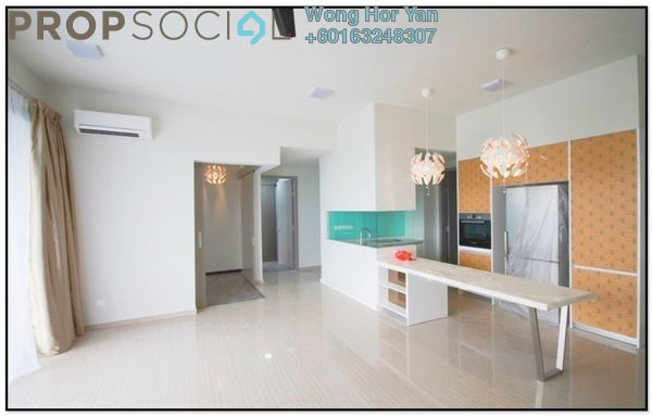Serviced Residence For Sale in Twin Arkz, Bukit Jalil Freehold Semi Furnished 3R/2B 865k