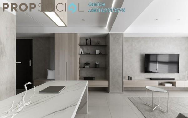 Condominium For Sale in Taman Tasik Indah, Jalan Ipoh Freehold Fully Furnished 4R/3B 628k