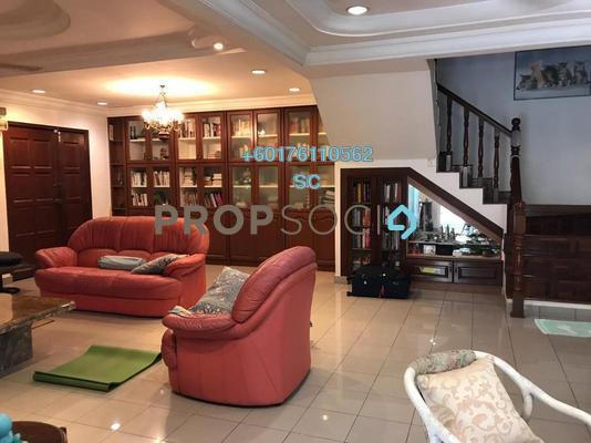 Terrace For Sale in BU3, Bandar Utama Freehold Semi Furnished 4R/3B 2m