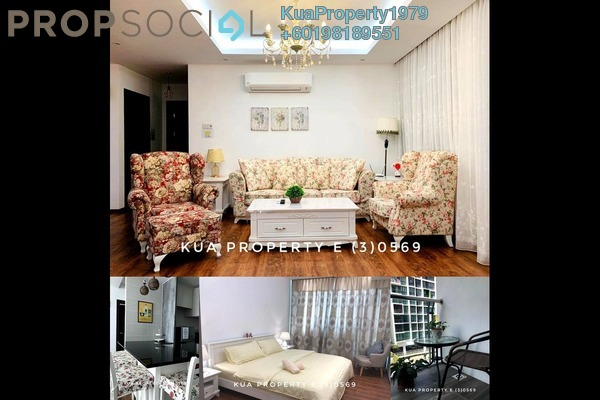 Condominium For Rent in Jazz Suite @ ViVaCiTy, Kuching Freehold Fully Furnished 3R/2B 2.8k