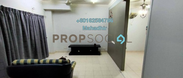 Terrace For Sale in Taman Bukit Emas, Balakong Freehold Semi Furnished 4R/2B 575k