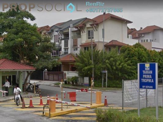 Terrace For Sale in Taman Prima Tropika, Bandar Putra Permai Freehold Semi Furnished 5R/4B 1.35m