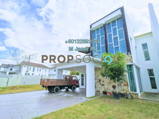 Semi-Detached For Sale in Taman Sri Rahmat, Yong Peng Freehold Fully Furnished 5R/3B 1.01m