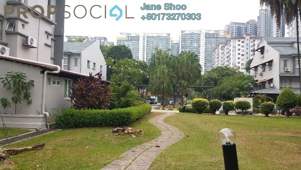 Townhouse For Sale in Bukit OUG Townhouse, Bukit Jalil Freehold Fully Furnished 3R/3B 688k