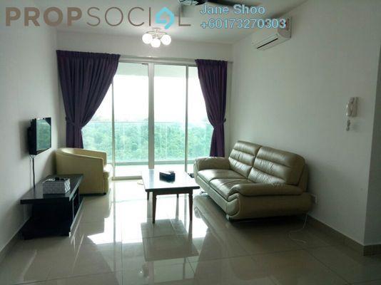 Condominium For Rent in Kiara Residence 2, Bukit Jalil Freehold Semi Furnished 4R/3B 1.7k