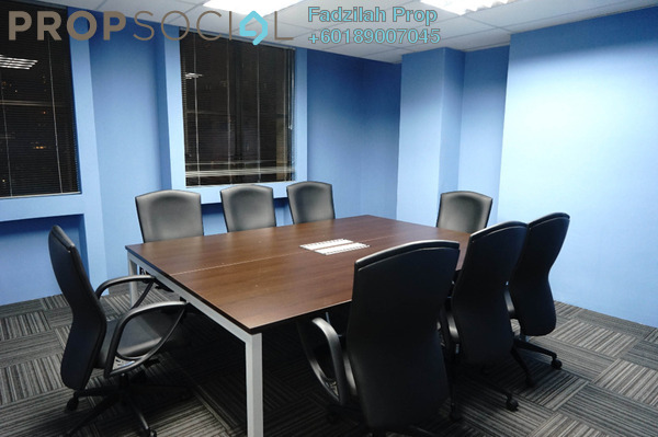 Office For Rent in Plaza Mont Kiara, Mont Kiara Freehold Fully Furnished 0R/0B 5.76k