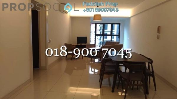 共管公寓 单位出租于 Royalle Condominium, Segambut Freehold Fully Furnished 2R/3B 2.2千