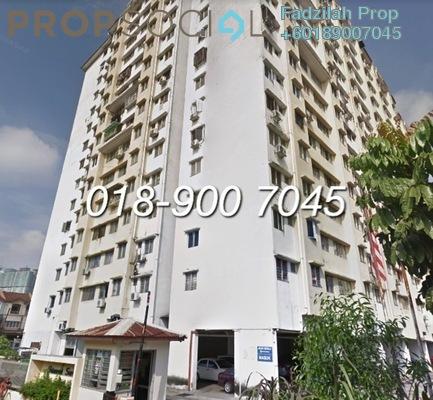 Apartment For Sale in Idaman Suria, Setapak Freehold Unfurnished 3R/2B 200k