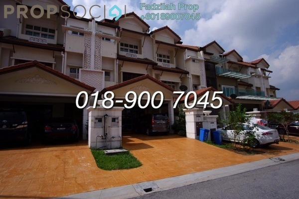 Terrace For Sale in Anjung Sari, Setia Alam Freehold Unfurnished 5R/5B 800k