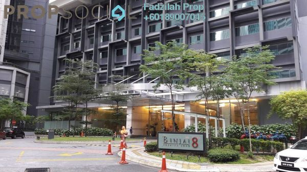 Serviced Residence For Rent in Binjai 8, KLCC Freehold Fully Furnished 1R/1B 3.1k