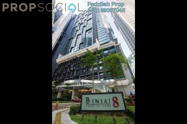 Serviced Residence For Rent in Binjai 8, KLCC Freehold Fully Furnished 1R/1B 2.9k