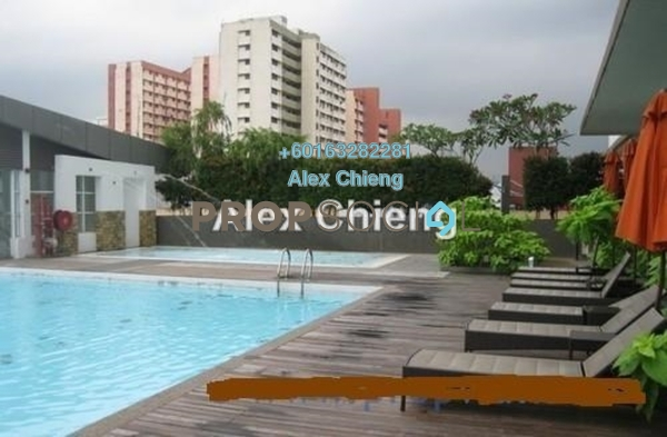 Condominium For Rent in Gaya Bangsar, Bangsar Leasehold Semi Furnished 1R/1B 3k