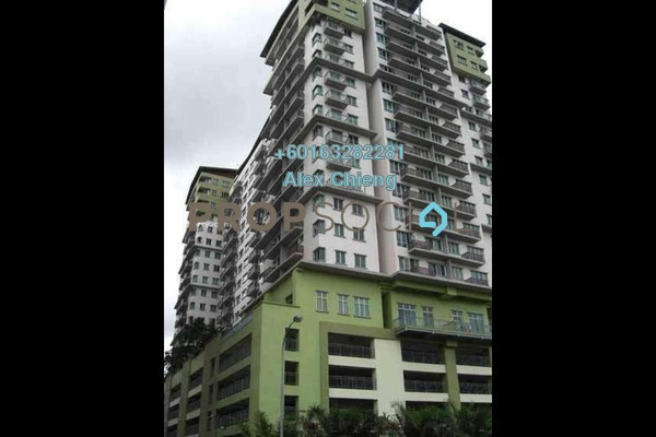Condominium For Rent in e-Tiara, Subang Jaya Freehold Semi Furnished 2R/2B 2.2k