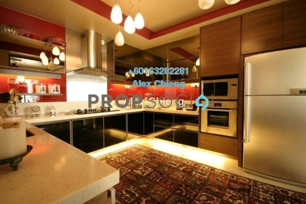 Condominium For Sale in 2 Hampshire, KLCC Freehold Semi Furnished 4R/5B 2.7m