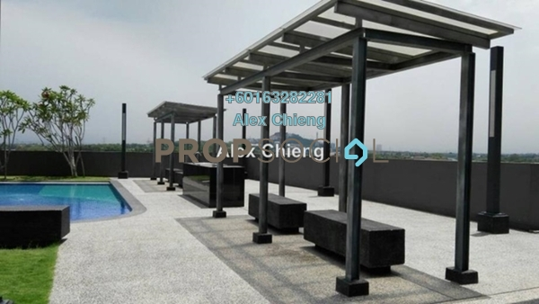 Condominium For Rent in Koi Prima, Puchong Leasehold Semi Furnished 3R/2B 1.1k