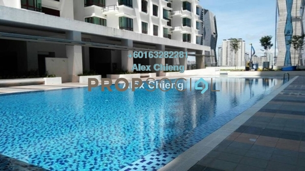 Condominium For Sale in Sentul Rafflesia, Sentul  Unfurnished 4R/3B 600k