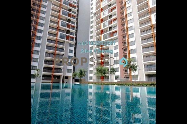 Condominium For Rent in Ameera Residence, Kajang Freehold Semi Furnished 3R/2B 1k