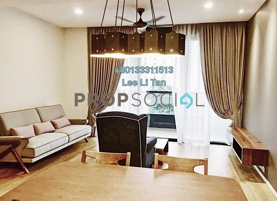 Condominium For Rent in Arcoris, Mont Kiara Freehold Fully Furnished 2R/2B 4.8k