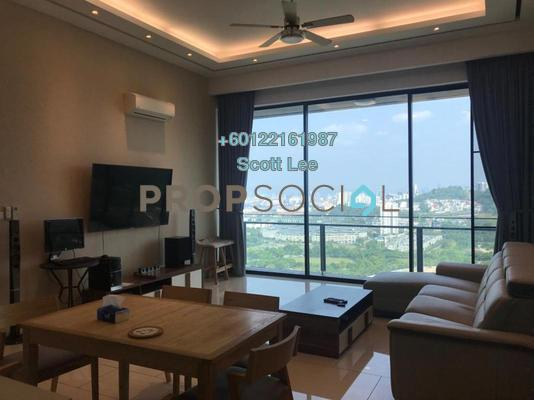 Condominium For Sale in One Central Park, Desa ParkCity Freehold Semi Furnished 3R/4B 2.2m