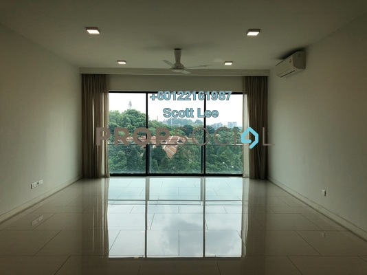 Condominium For Sale in One Central Park, Desa ParkCity Freehold Semi Furnished 2R/2B 1.35m