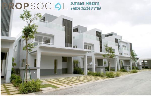Villa For Sale in LakeFront Villa, Cyberjaya Freehold Unfurnished 4R/4B 1.7m