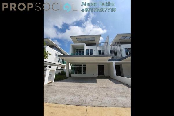 Semi-Detached For Rent in Clover @ Garden Residence, Cyberjaya Freehold Semi Furnished 4R/4B 2.5k