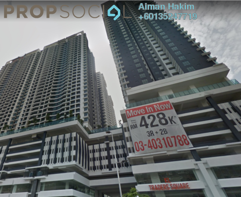 Office For Rent in KL Traders Square, Kuala Lumpur Freehold Unfurnished 1R/1B 2.2k