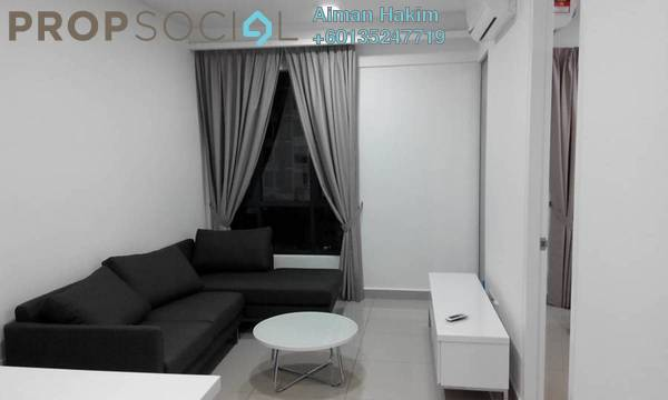 Serviced Residence For Sale in Eclipse Residence @ Pan'gaea, Cyberjaya Freehold Fully Furnished 1R/1B 370k