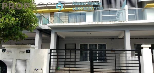Terrace For Rent in Taman Salak Impian, Bandar Baru Salak Tinggi Freehold Semi Furnished 4R/4B 1.5k