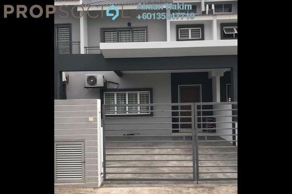 Terrace For Rent in Laman View, Cyberjaya Freehold Semi Furnished 4R/3B 2.5k