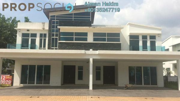 Semi-Detached For Rent in My Diva Homes, Cyberjaya Freehold Fully Furnished 5R/5B 4.5k