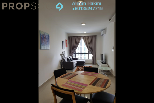 Condominium For Rent in Eclipse Residence @ Pan'gaea, Cyberjaya Freehold Fully Furnished 2R/2B 1.7k