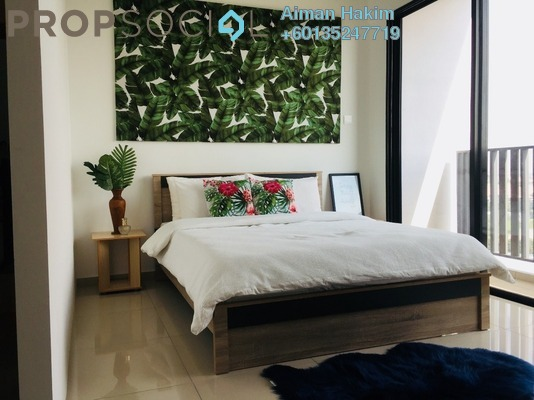 Serviced Residence For Rent in i-City, Shah Alam Freehold Fully Furnished 1R/1B 1.4k