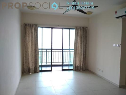 Condominium For Sale in Serin Residency, Cyberjaya Freehold Semi Furnished 3R/2B 420k