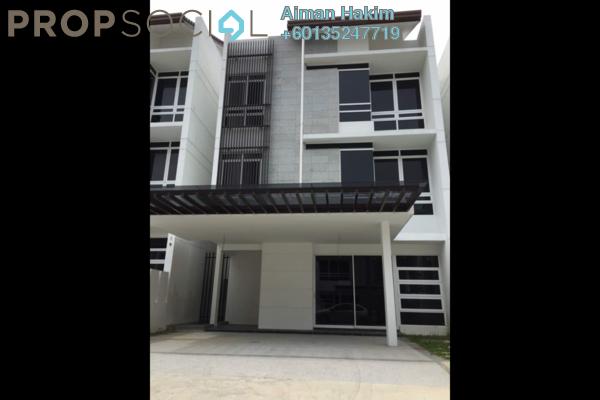 Superlink For Rent in Duta Villa, Putrajaya Freehold Semi Furnished 6R/6B 2.7k